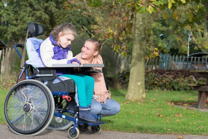 Caring for young disabled children