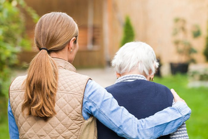 UK Carers working with the elderly