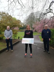 Brighter futures cheque presentation from Swindon Old town Rotary