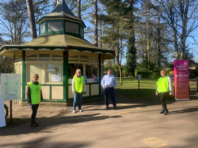 Rotary volunteers from Swindon Old Town