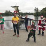 Swindon Phoenix Santa race